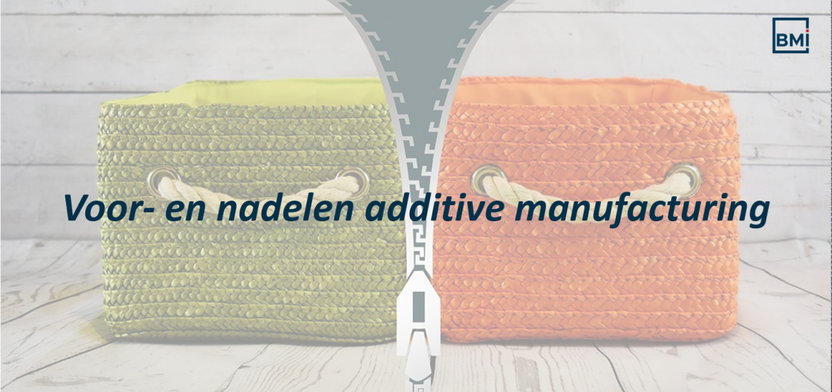 Voordelen additive manufacturing