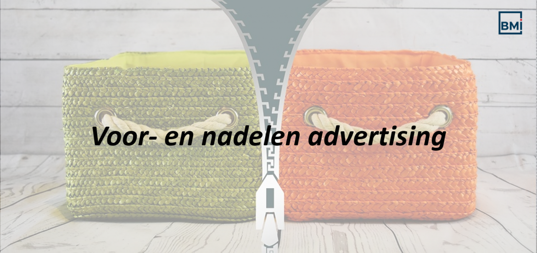 Voor- en nadelen advertising