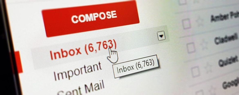 Kunstmatige intelligentie Gmail voorbeeld