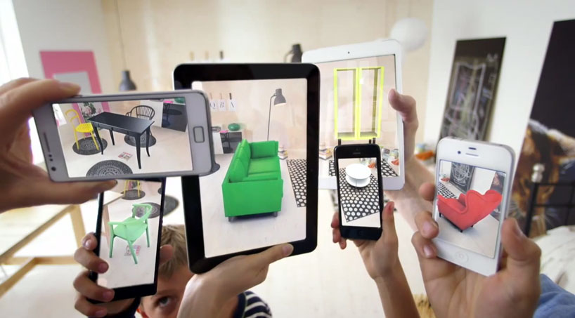 Augmented reality Ikea place