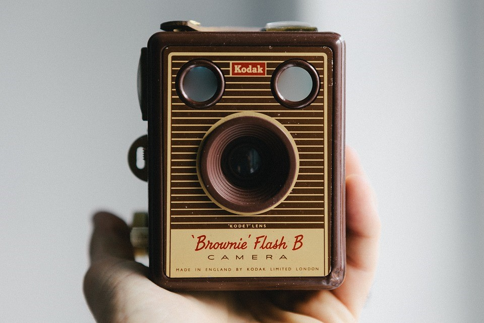 Kodak, Camera, Brownie, Vak