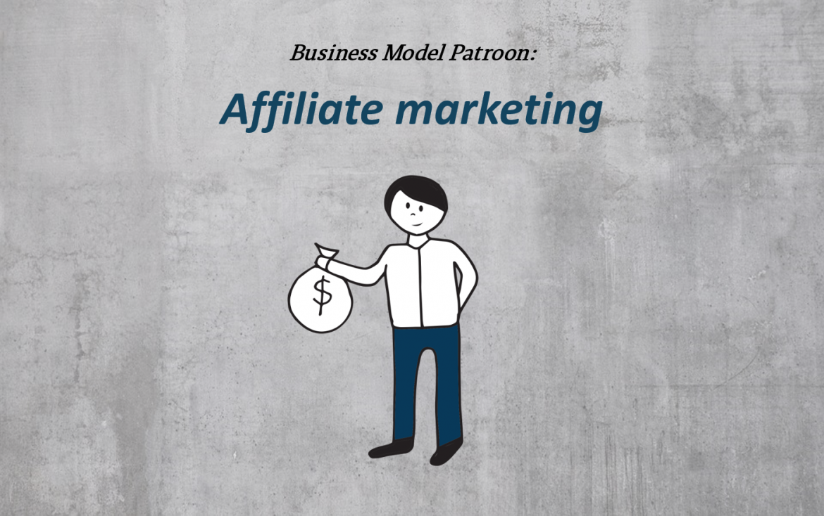 Affiliate businessmodel