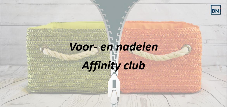 Voor- en nadelen affinity club