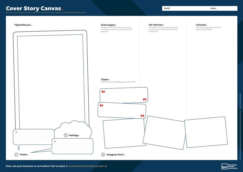 Cover Story Canvas - Stel de meest fantastische toekomst voor